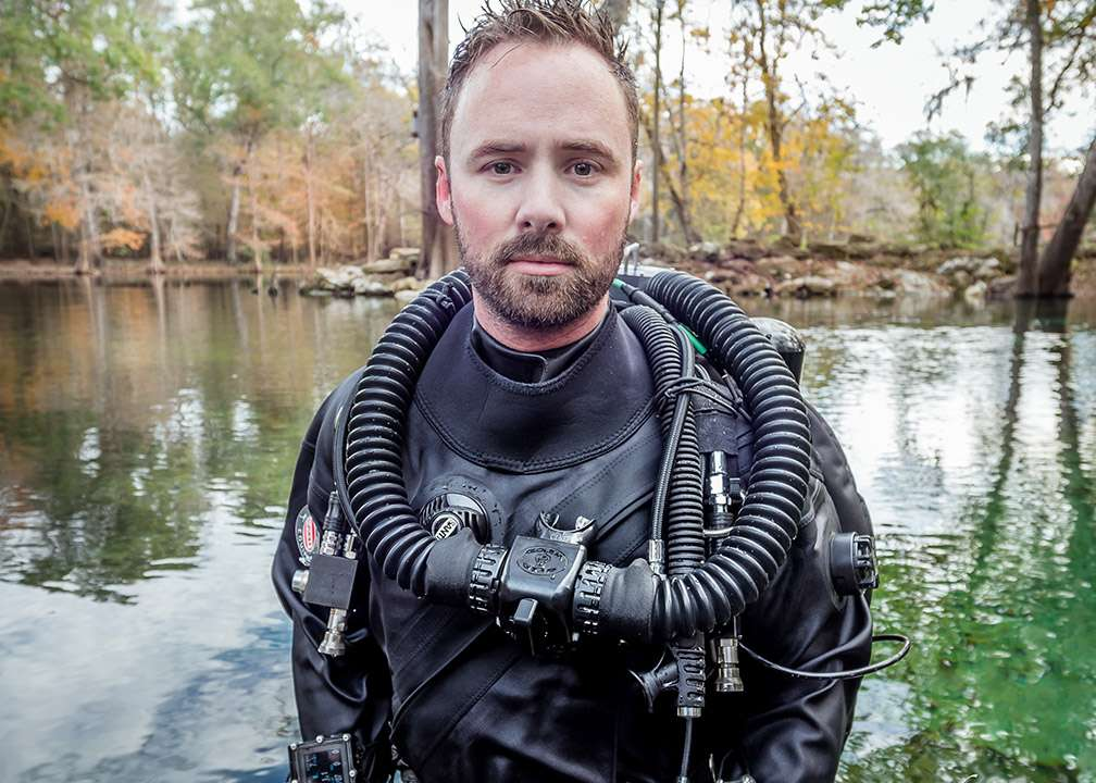 Derek Covington, MD, at Ginnie Springs