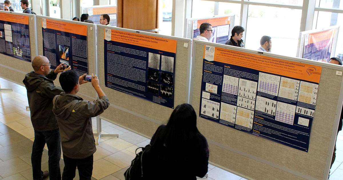 Celebration of Research posters
