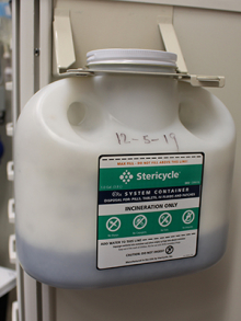 Stericycle container