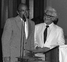 Doctor Modell at the 1978 Graduation