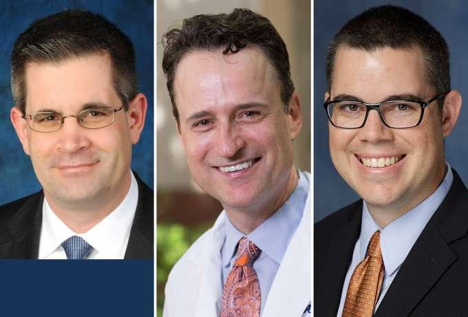 Doctors Przkora, Dore, and Tighe