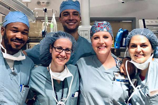 Residents in the OR