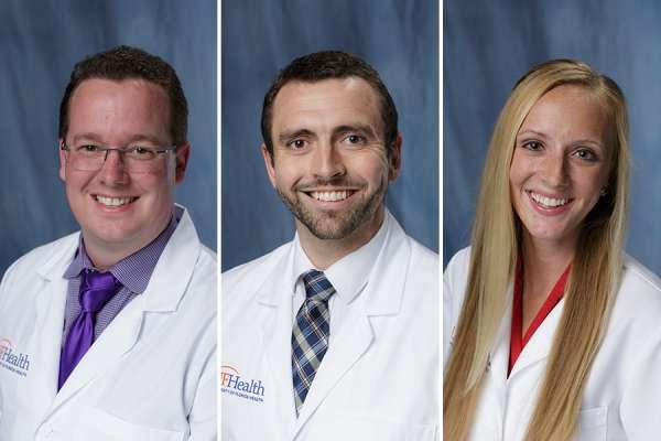Doctors Hutchinson, Mallett, and Premo